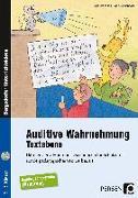 Cover-Bild zu Auditive Wahrnehmung - Textebene von Rosendahl, Julia