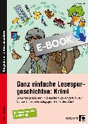 Cover-Bild zu Ganz einfache Lesespurgeschichten: Krimi (eBook) von Rosendahl, Julia