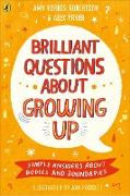 Cover-Bild zu Brilliant Questions About Growing Up (eBook) von Forbes-Robertson, Amy