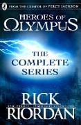 Cover-Bild zu Heroes of Olympus: The Complete Series (Books 1, 2, 3, 4, 5) (eBook) von Riordan, Rick