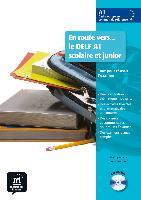 Cover-Bild zu En route vers... le DELF A1 scolaire et junior. Buch mit Audio-CD