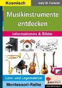 Cover-Bild zu Musikinstrumente entdecken von Forester, Gary M.