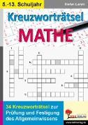 Cover-Bild zu Kreuzworträtsel Mathematik von Lamm, Stefan