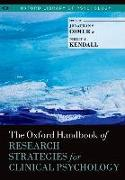 Cover-Bild zu The Oxford Handbook of Research Strategies for Clinical Psychology von Comer, Jonathan S. (Hrsg.)