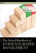 Cover-Bild zu Oxford Handbook of Evidence-Based Management (eBook) von Rousseau, Denise M. (Hrsg.)