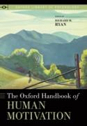 Cover-Bild zu Oxford Handbook of Human Motivation (eBook) von Ryan, Richard M. (Hrsg.)