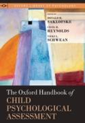 Cover-Bild zu The Oxford Handbook of Child Psychological Assessment (eBook) von Saklofske, Donald H. (Hrsg.)