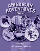 Cover-Bild zu American Adventures Starter: Workbook von Wetz, Ben