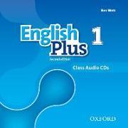 Cover-Bild zu English Plus: Level 1: Class Audio CDs von Wetz, Ben