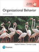Cover-Bild zu Organizational Behavior, 18th Global Edition von Robbins, Stephen P.