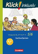 Cover-Bild zu Klick! inklusiv, Mathematik, 5./6. Schuljahr, Sachaufgaben, Arbeitsheft 6 von Jenert, Elisabeth