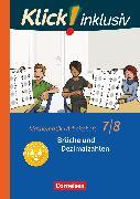 Cover-Bild zu Klick! inklusiv, Mathematik, 7./8. Schuljahr, Brüche und Dezimalzahlen, Arbeitsheft 2 von Jenert, Elisabeth