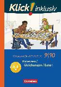 Cover-Bild zu Klick! inklusiv, Mathematik, 9./10. Schuljahr, Potenzen / Gleichungen / Daten, Arbeitsheft 2 von Jenert, Elisabeth