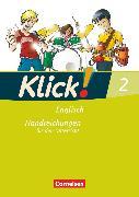 Cover-Bild zu Klick! Englisch, Alle Bundesländer, Band 2: 6. Schuljahr, Handreichungen für den Unterricht von Backhaus, Angela