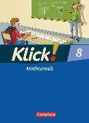 Cover-Bild zu Klick! Mathematik - Mittel-/Oberstufe, Alle Bundesländer, 8. Schuljahr, Schülerbuch von Friedemann-Zemkalis, Enno