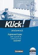 Cover-Bild zu Klick! Mathematik - Mittel-/Oberstufe, Alle Bundesländer, 8. Schuljahr, Kopiervorlagen mit CD-ROM, Auf 3 Niveaustufen von Friedemann-Zemkalis, Enno