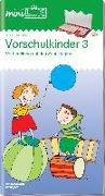 Cover-Bild zu miniLÜK. Übungen für Vorschulkinder 3