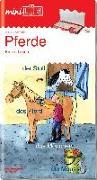 Cover-Bild zu miniLÜK. Pferde Erstes Lesen