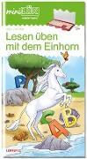 Cover-Bild zu miniLÜK Lesen üben mit dem Einhorn