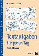 Cover-Bild zu Textaufgaben für jeden Tag. 3./4. Klasse von Wurst, Sharman