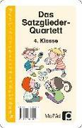 Cover-Bild zu Das Satzglieder-Quartett von Wehren, Bernd