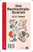 Cover-Bild zu Das Rechtschreib-Quartett von Wehren, Bernd