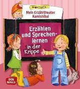 Cover-Bild zu Mein Erzähltheater Kamishibai: Erzählen und Sprechenlernen in der Krippe von Gruschka, Helga