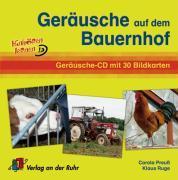 Cover-Bild zu Hinhören lernen: Geräusche auf dem Bauernhof von Ruge, Klaus