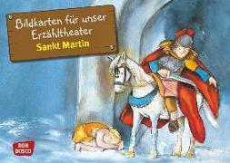 Cover-Bild zu Bildkarten für unser Erzähltheater: Sankt Martin von Herrmann, Bettina