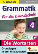 Cover-Bild zu Grammatik für die Grundschule - Die Wortarten / Klasse 4 (eBook) von Nitsche, Sylvia