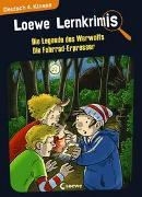 Cover-Bild zu Loewe Lernkrimis - Die Legende des Werwolfs / Die Fahrrad-Erpresser von Neubauer, Annette