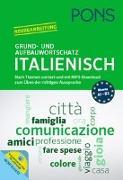Cover-Bild zu PONS Grund- und Aufbauwortschatz Italienisch