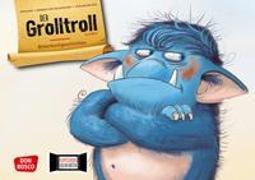 Cover-Bild zu Der Grolltroll by aprilkind. Kamishibai Bildkartenset von Speulhof, Barbara van den
