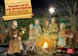 Cover-Bild zu Franziskus und die erste Weihnachtskrippe von Brandt, Susanne