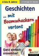 Cover-Bild zu Geschichten ... mit Boomwhacker vertont (eBook) von Schnepp, Andrea