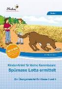 Cover-Bild zu Kinder-Krimi für kleine Kommissare: Spürnase Lotta ermittelt (Set) von Schnepp, Andrea