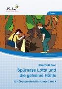 Cover-Bild zu Kinder-Krimi: Spürnase Lotta und die geheime Höhle (PR) von Schnepp, Andrea