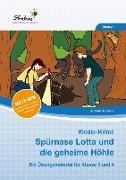 Cover-Bild zu Kinder-Krimi: Spürnase Lotta und die geheime Höhle (Set) von Schnepp, Andrea