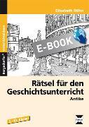 Cover-Bild zu Rätsel für den Geschichtsunterricht (eBook) von Höhn, Elisabeth