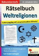 Cover-Bild zu Rätselbuch Weltreligionen von Höhn, Elisabeth