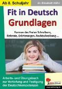 Cover-Bild zu Fit in Deutsch - Grundlagen (eBook) von Höhn, Elisabeth