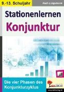Cover-Bild zu Stationenlernen Konjunktur (eBook) von Lütgeharm, Rudi