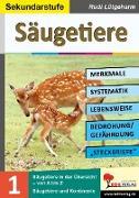 Cover-Bild zu Säugetiere - Merkmale, Lebensraum, Systematik (eBook) von Lütgeharm, Rudi