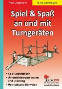 Cover-Bild zu Spiel und Spaß an und mit Turngeräten (eBook) von Lütgeharm, Rudi