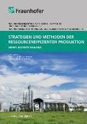 Cover-Bild zu Strategien und Methoden der ressourceneffizienten Produktion von Brugger, Martin