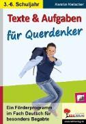 Cover-Bild zu Texte und Aufgaben für Querdenker (eBook) von Hielscher, Kerstin