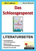 Cover-Bild zu Das Schlossgespenst - Literaturseiten (eBook) von Hielscher, Kerstin
