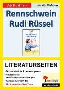 Cover-Bild zu Rennschwein Rudi Rüssel - Literaturseiten (eBook) von Hielscher, Kerstin