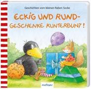 Cover-Bild zu Der kleine Rabe Socke: Eckig und Rund - Geschenke kunterbunt! von Moost, Nele