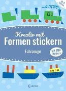 Cover-Bild zu Mein kunterbuntes StickerBastelBuch - Fahrzeuge von Pautner, Norbert
